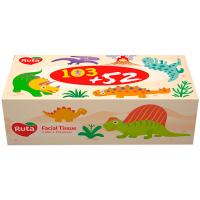 Серветки паперові гігієнічні Ruta Kids, 155 шт.