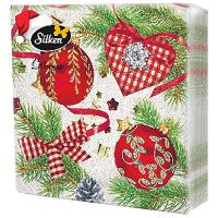Серветки Silken Decor паперові 3 шари 20шт.