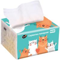 Серветки Silken Premium паперові у коробці 2шар 150шт.