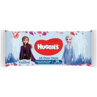 Дитячі серветки вологі гігієнічні Huggies All Over Clean Disney, 56 шт.