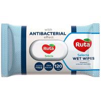Серветки вологі Рута з антибактеріальним ефектом 120шт