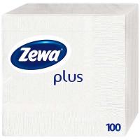 Серветки Zewa Plus 100шт