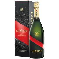 Шампанське G.H.Mumm Grand Cordon Brut (короб) 0.75л