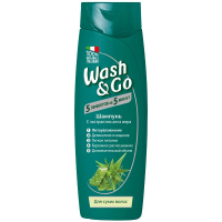 Шампунь Wash&Go з екстрактом аоле вера 400мл