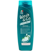 Шампунь Wash&Go з екстрактом жасмину 400мл