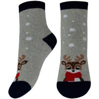 Шкарпетки Легка Хода дитячі 9251 18-20 срібло меланж