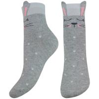 Шкарпетки Легка Хода дитячі 16-18 срібло-меланж арт.9266