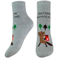 Шкарпетки Легка Хода дитячі 9268 18-20 срібло меланж