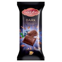 Шоколад чорний з чорницею ТМ АВК 90г