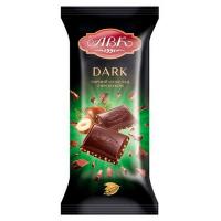 Шоколад чорний з фундуком ТМ АВК 90г