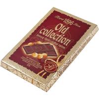 Шоколад ХБФ Old Collection гіркий з лісовим горіхом 200г