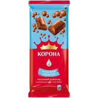 Шоколад Корона молочний пористий 80г