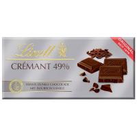 Шоколад Lindt чорний 49% 100г