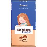 Шоколад Любимов Tiramisu чорний 100г