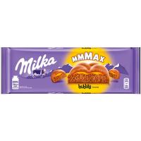 Шоколад Milka Bubbles з карамельною начинкою 250г