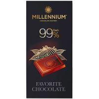 Шоколад Millennium Favorite чорний 99% 100г