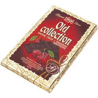 Шоколад OLD COLLECTION гіркий вишневі шматочки 200г