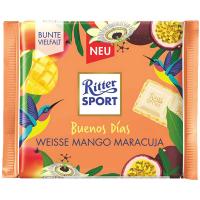 Шоколад Ritter Sport білий з кремом маракуї та манго 100г