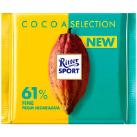 Шоколад Ritter Sport Cocoa Selection 61% 100г