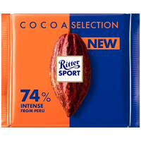 Шоколад Ritter Sport Cocoa Selection 74% 100г