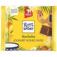 Шоколад Ritter sport мол. нач. йогурт/мед/горіхи 100г