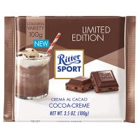 Шоколад Ritter Sport молочний з начинкою какао-крем 100г