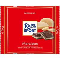Шоколад Ritter Sport темний з начинкою марципан 100г