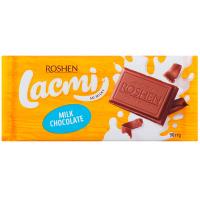 Шоколад Roshen Lacmi молочний 90г