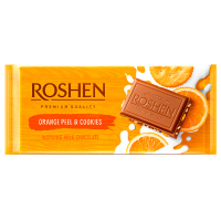 Шоколад Roshen Orange Peel & Cookies 90г