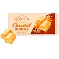Шоколад Roshen пористий білий карамельний 80г