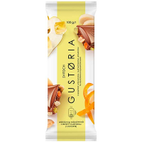 Шоколад Світоч Gustoria молочний з цедрою апельсина 100г