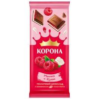 Шоколад ТМ Корона малина-крем 85г