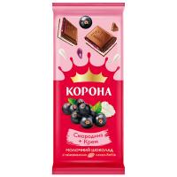 Шоколад ТМ Корона смородина-крем 85г
