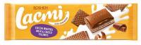 Шоколад Roshen Lacmi мол. та шок.нач.,вафл. з какао 265г