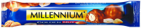 Шоколад Millennium Golden Nut молочний з лісов.горіхами 40г