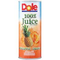 Сік Dole ананасово-апельсиновий з/б 250мл