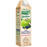 Сік Galicia яблучно-чорносмородиновий пет 1л