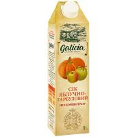 Сік Galicia яблучно-гарбузовий неосвітлений 1л