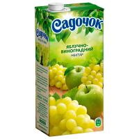 Сік Садочок Яблучно-виноградний 0,95л