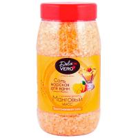 Сіль для ванн Dolce Vero манговий мус 550г