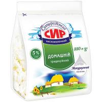 Сир Білоцерківський Домашній кисломолочний 5% 350г