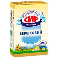 Сир Білоцерківський Вершковий плавлений 50% 90г