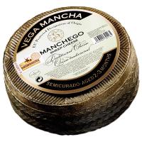 Сир Манчего DOP 55% ТМ Vega Mancha 2-3 міс.витр. 100г