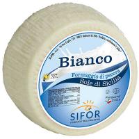 Сир овечий Пекоріно Bianco 47% Sifor, Італія 100г
