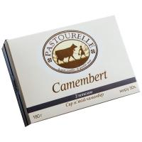Сир Pastourelle Camembert м`який з попелом 50% 180г