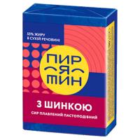 Сир Пирятин плавлений з шинкою 55% 90г