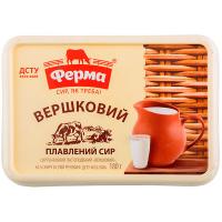 Сир плавлений Ферма Вершковий 60% 180г