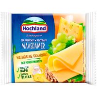 Сир Hochland Maasdamer плавлений скибочками 40% 130г