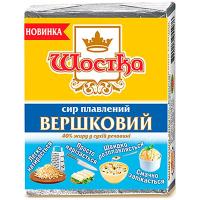 Сир Шостка плавлений Вершковий 40% 90г