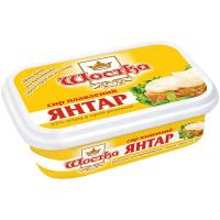 Сир плавлений Шостка Янтар з вітамінами 50% 180г